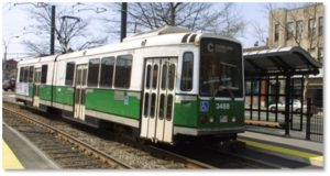 MBTA, the T, Green Line, public transportation