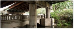Bowker Overpass, Beacon Street, Muddy River, Charlesgate Park