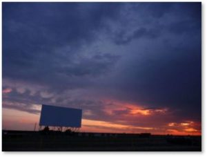 Drive in Movie Theater, report on science fiction movies first half 2018