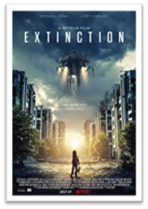 Extinction movie, one sheet, science fiction movies 2H 2018