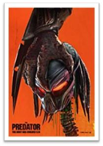 The Predator movie, one sheet, science fiction movie
