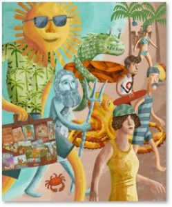 End of Summer, Santiago Uceda, Roundup of August 2018 Posts