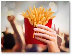 McDonald's, fries, obesity, fast food, do you want fries with that