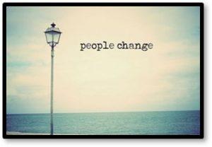 people change, friendships end