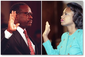 Clarence Thomas, Anita Hill, 1991 Senate Judiciary Committee, hearings, Supreme Court, nominee