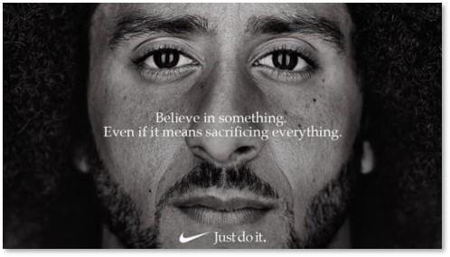 Colin Kaepernick, Nike, Just Do It