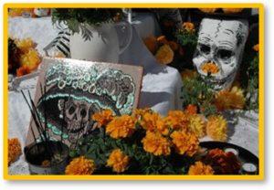 Day of the Dead, Dia de los Muertos, celebration, Mexican marigolds