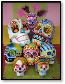 Day of the Dead, sugar skulls, Dia de los Muertos, celebration