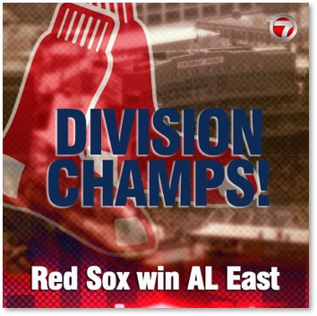 Red Sox, Division Champions 2018, 108 games, Boston, Fenway Park