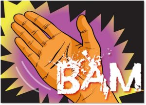BAM, Slap-Your-Hand Award, Slappy, news media