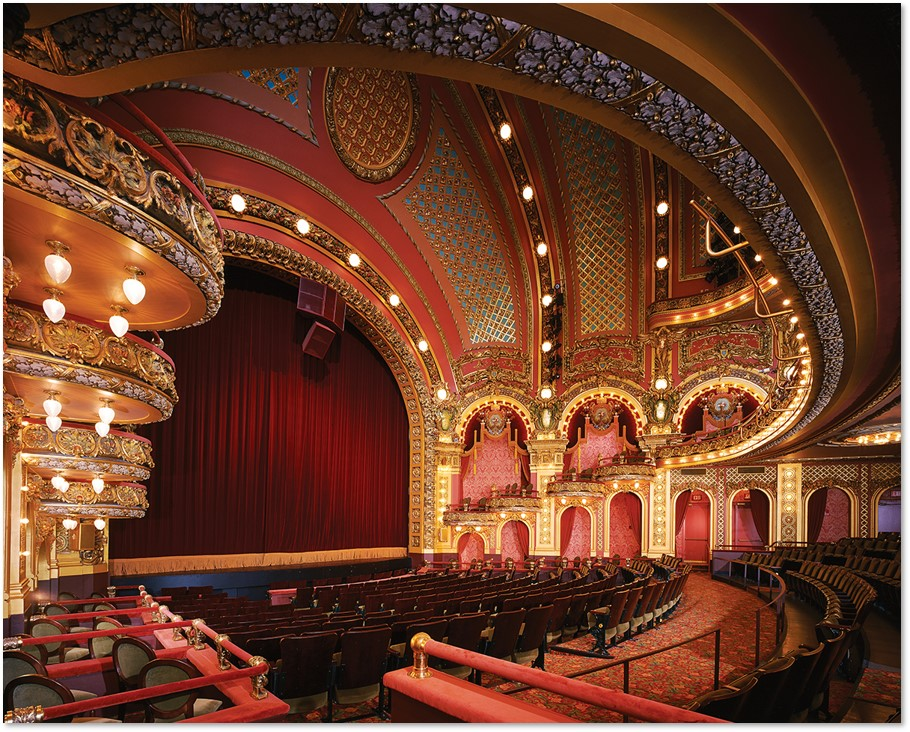 Cutler Majestic Theater, Elkus Manfredi Architects, Emerson College, restoration. Ted and Joan Cutler