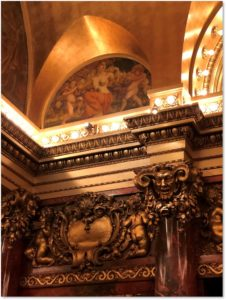 Cutler Majestic Theater, lobby, lunette mural, William de Leftwich Dodge