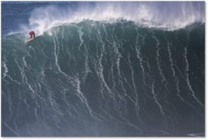 big-wave surfing, Nazare, Portugal