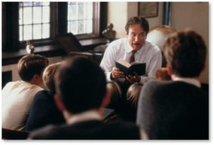 Dead Poets Society, Robin Williams, prep school, Welton Academy