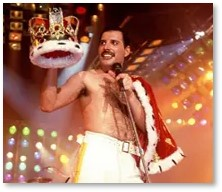 Freddy Mercury, Queen, diva