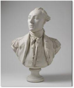 Marquis de Lafayette, Jean-Antoine Houdon, Boston Athenaeum