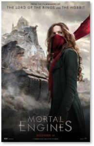 Mortal Engines, movie, Peter Jackson, Phlip Reeve