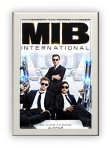 Men in Black International, MIB, movie onesheet, science fiction