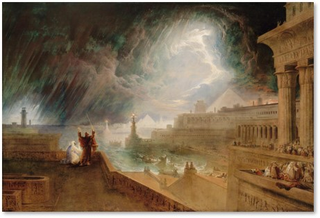 Seventh Plague of Egypt, John Martin, Boston Museum of Fine Arts, MFA