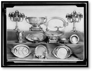 heirlooms, heirloom silver, silver dining service