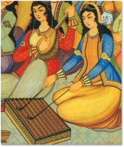 Women in Iran, painting, Iranian HIstory