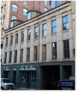 20-30 Bromfield Street Boston, Egyptian Revival