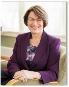 Amy Klobuchar, Senator, candidate, president 2020