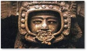 ancient alien carving, alien visitation,
