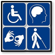 disabled, disability, icons, sign