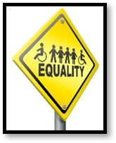 equality, disability, inability, road sign
