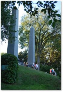 Fuller Obelisks, Mount Auburn Cemetery, Washington Tower, Abraham Fuller