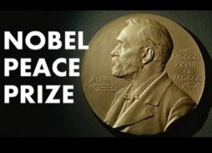 Nobel Peach Prize, Donald Trump, Shinzo Abe
