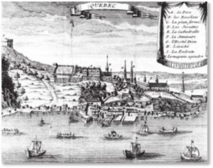 Quebec City 1700, French-Canadian genealogy, French-Canadian history