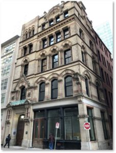 Boston Young Men's Christian Union, Nathaniel J. Bradlee, 48 Boylston Street,, High Victorian Gothic architecture, Boston's oldest gym