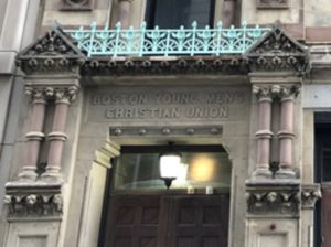 48 Boylston Street, facade, high Victorian Gothic architecture, Boston Young Men's Christian Union, 48 Boylston Street