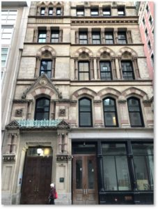 Boston Young Men's Christian Union, 48 Boylston Street, Jeremiah Bradlee, High Victorian Gothic style, polychromy