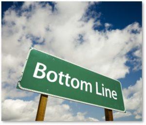bottom line, fiduciary responsibility, self regulation