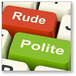 Rude, Polite, good manners, civility , decline of civility