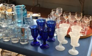 First Parish of Sudbury, rummage sale, cobalt glass, Women's Alliance