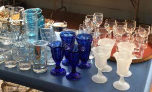 First Parish of Sudbury, rummage sale, cobalt glass, Women's Alliance