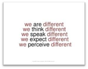 We are different, dandelion, BRAT