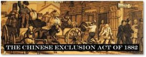 Chinese Exclusion Act of 1882, immigration law, Chinese workers, transcontinental railroad