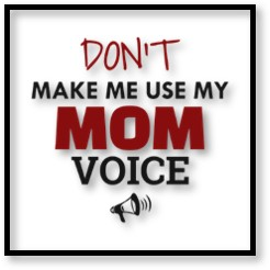 Don't Make Me Use My Mom Voice, Motherhood, 'Hood