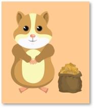 hamster, clipart, Bungie, Houdini, cat