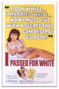 I Passed for White, movie, 1960, race relations
