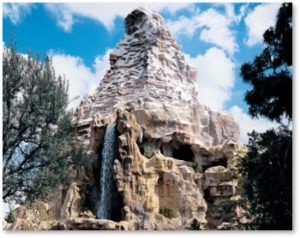Disneyland, Matterhorn, theme park, mountain