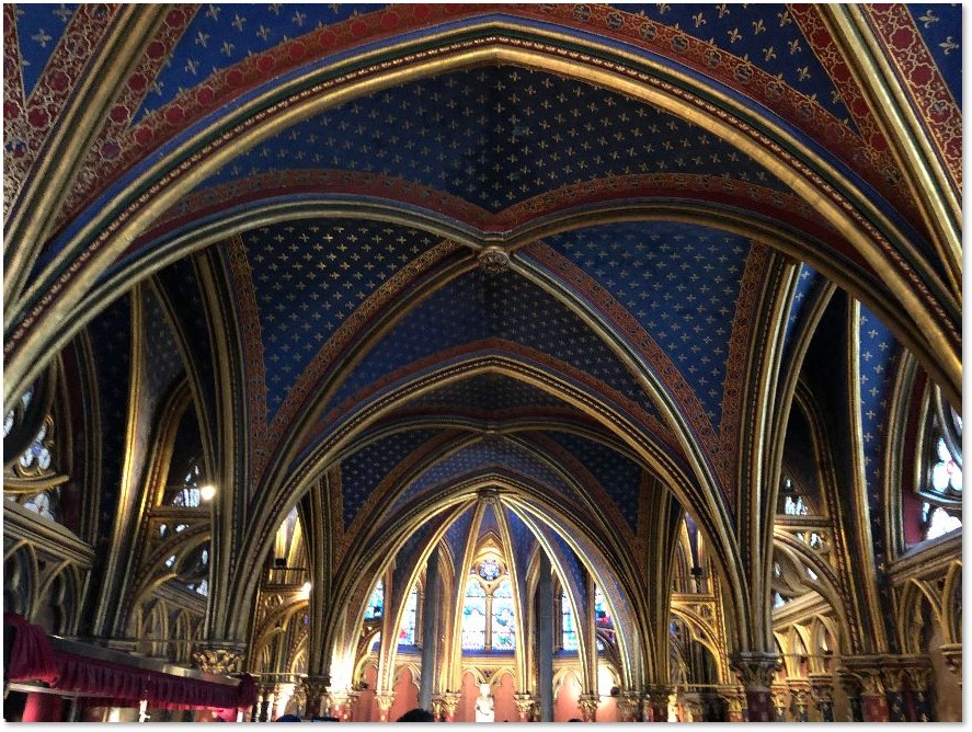 Basse Chapelle, Sainte Chapelle, St. Louis de France, King Louis IX