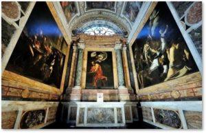 Contarelli Chapel, San Luigi dei Franchesi, Rome, Caravaggio, St. Matthew