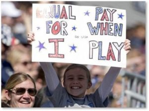 Equal Pay for When I Play, US National Women's Soccer Team, World Cup 2019