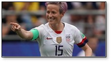 Megan Rapinoe, U.S. Women's Soccer, equal pay, new voice